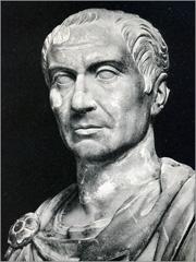 Júlio César. Busto romano do século I a.C. - Capeia Arraiana