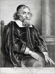 Outra gravura, esta de Jan Lievens, representando Ephraim Bueno em 1656 - Capeia Arraiana