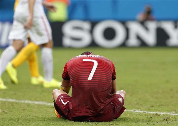 Cristiano Ronaldo - Mundial 2014 - Portugal-USA - Capeia Arraiana