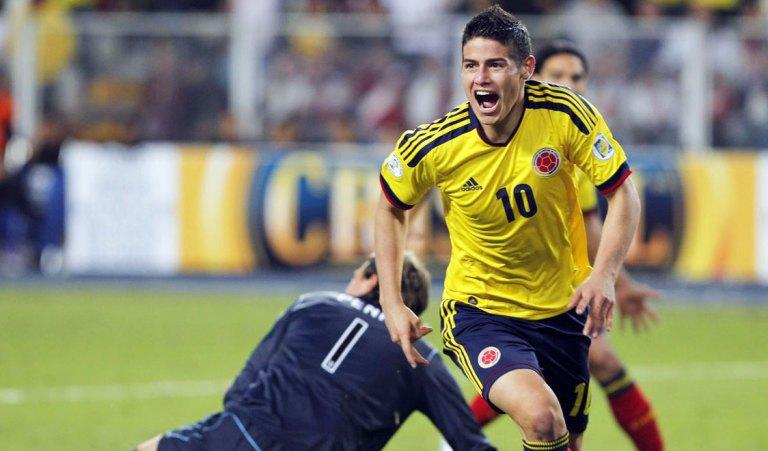 James Rodriguez - o craque colombiano que passou pelo FC Porto