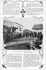 6 - Reportagem da revista «Ilustração Portuguesa» de 10 de Outubro de 1910 sobre o encerramento do Colégio de Aldeia da Ponte - Adérito Tavares - Capeia Arraiana