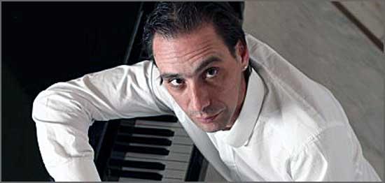 O pianista Pedro Burmester