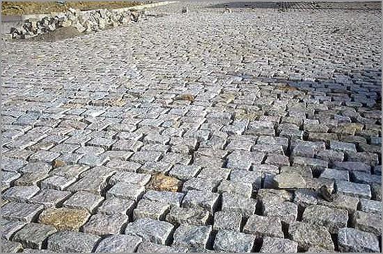 Pavimentações e calcetamentos de arruamentos - Capeia Arraiana