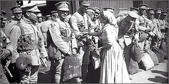 Há 99 anos partem para França os primeiros soldados portugueses