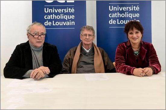 Jean-Claude Guillebaud - André Brink - Eve Ensler - Université Catholique Louvain - Capeia Arraiana