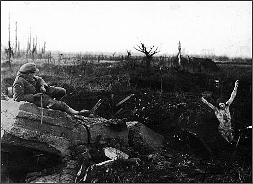 O Cristo das Trincheiras acompanhou os soldados portugueses na I Guerra Mundial