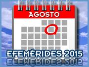 Agosto - 2015 - Efemérides - Capeia Arraiana