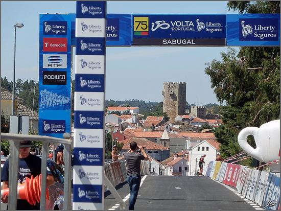 Os ciclistas voltam a passar pelo Sabugal