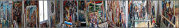 Pinturas de Alcínio