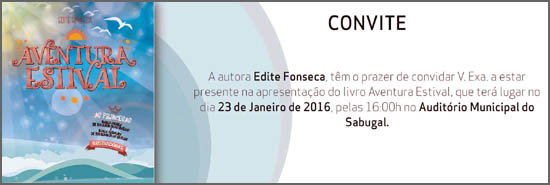 O novo livro de Edite Fonseca vai ser apresentado no Sabugal