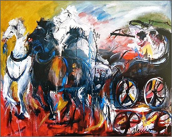 Pintura de Alcínio