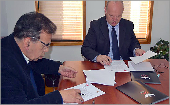 IPG - AFG - Assinatura de Protocolo - Guarda - Capeia Arraiana