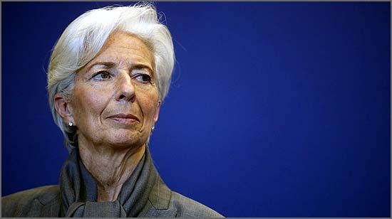Christine Lagarde disse o indizível
