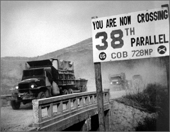 Na repartição fala-se na guerra da Coreia