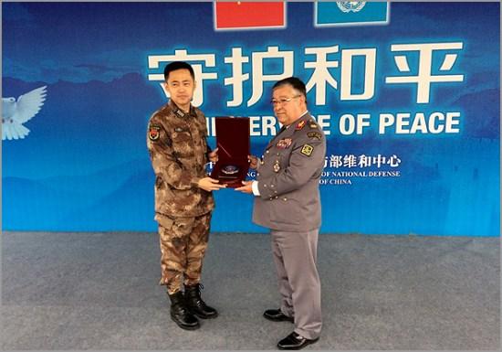 Reunião com o ministro da defesa Chinês em Novembro de 2015