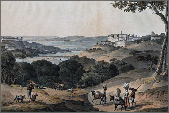 Cidade de Coimbra. London: C. Turner and Colnaghi, 1812-1815. St. Clair, Thomas Staunton