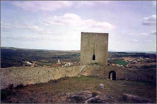 O castelo de Vilar Maior