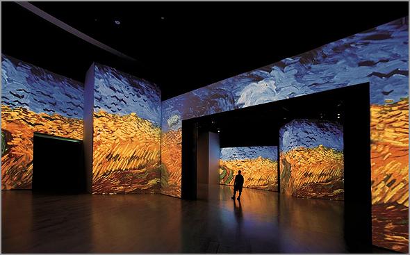 Van Gogh Experience na Cordoaria Nacional - Capeia Arraiana