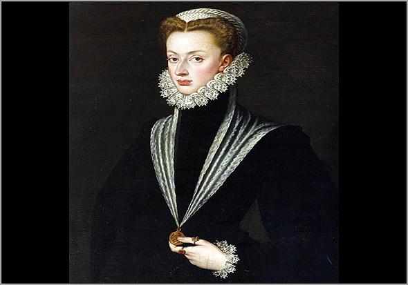 Retrato de Dona Joana de Áustria, mãe de D. Sebastião. Cerca do ano 1561 - Capeia Arraiana