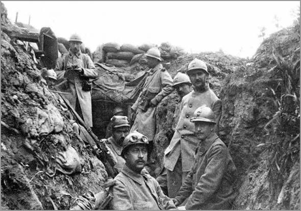 As trincheiras na I Guerra Mundial - Capeia Arraiana