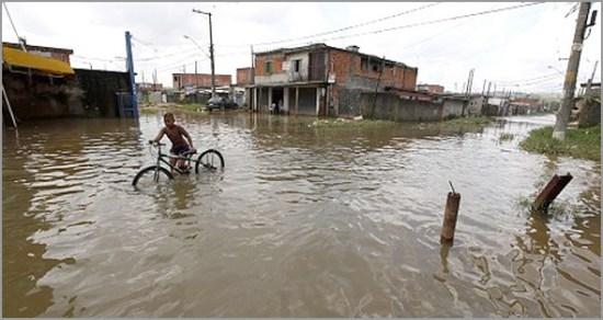 Época das chuvas em Buco Zau - Capeia Arraiana