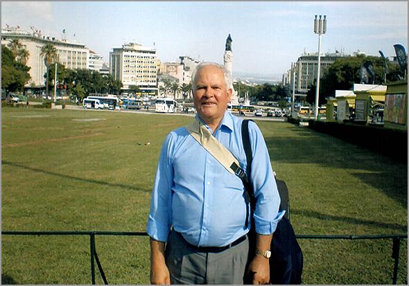 Globetrotter - Franklim Costa Braga no Parque Eduardo VII em Lisboa - Capeia Arraiana