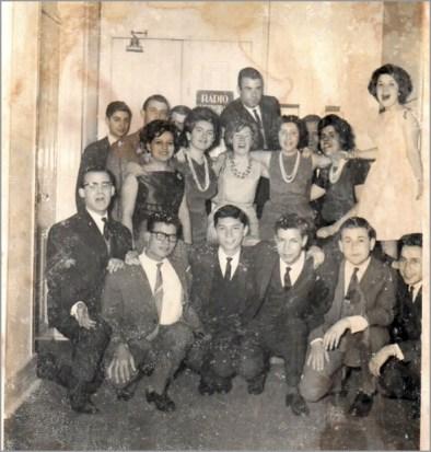 Grupo que foi à Queima das Fitas a Coimbra - Capeia Arraiana