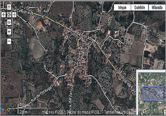 O Casteleiro no mapa - Capeia Arraiana