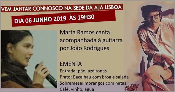 Duo «O Acaso». Marta Ramos acompanhada por João Rodrigues