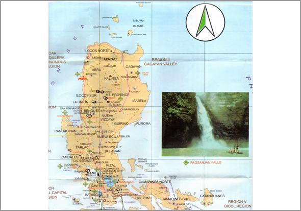 Mapa das Filipinas