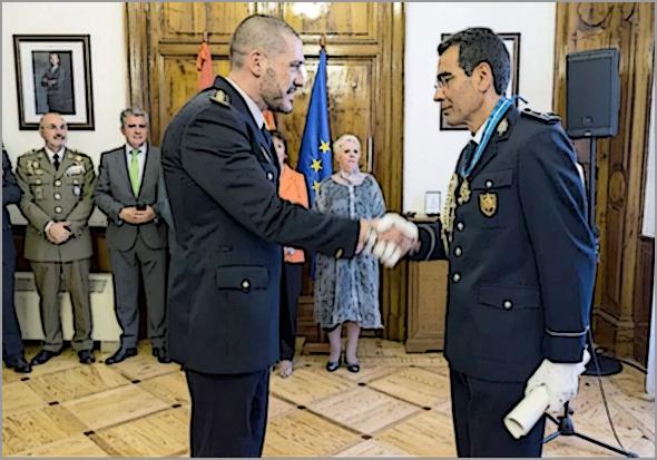 Salamanca condecora o Superintendente José Salvado Lopes / PSP / Guarda