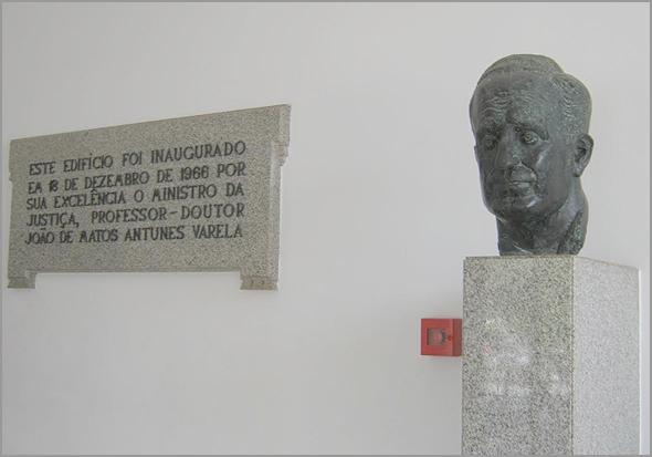 Palácio da Justiça do Sabugal foi inaugurado por Antunes Varela
