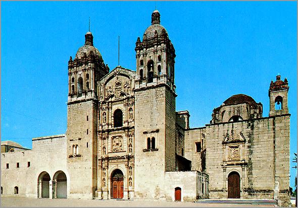 Igreja de Santo Domingo em Oaxaca