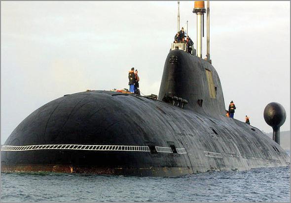 Encontro imaginário com um submarino