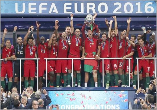 Futebol: Portugal sagrou-se Campeão da Europa no Euro-2016 disputado em França