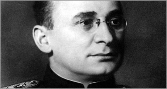 Lavrenti Pavlovitch Beria - executor do Grande Expurgo de Estaline na década de 1930