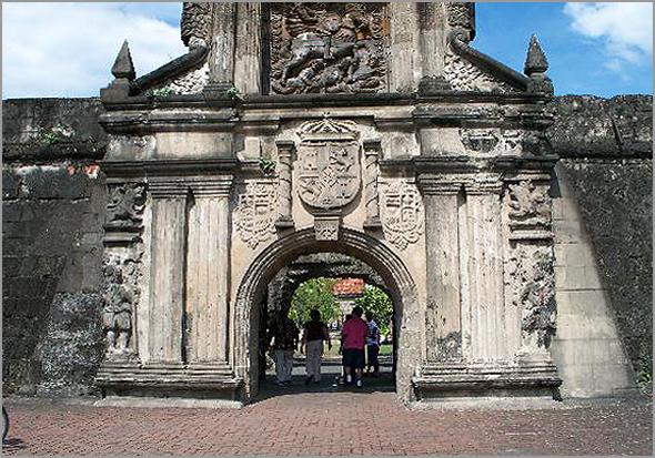 Porta do Forte Santiago