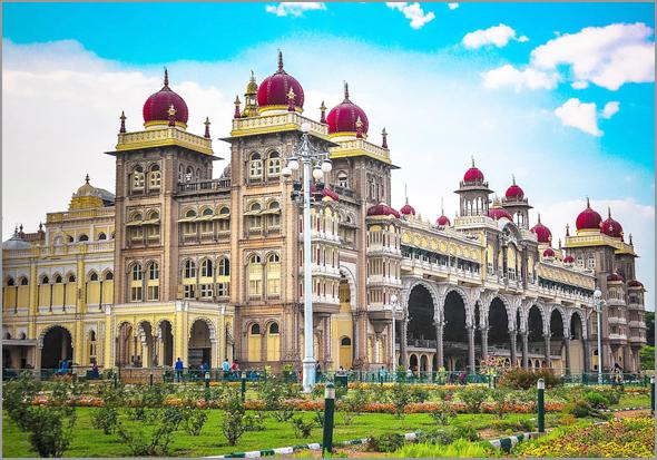 Templo hindu de Mysore