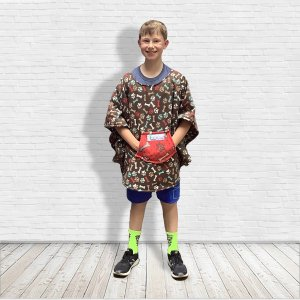 Child Hospital Gift Warm Fleece Poncho