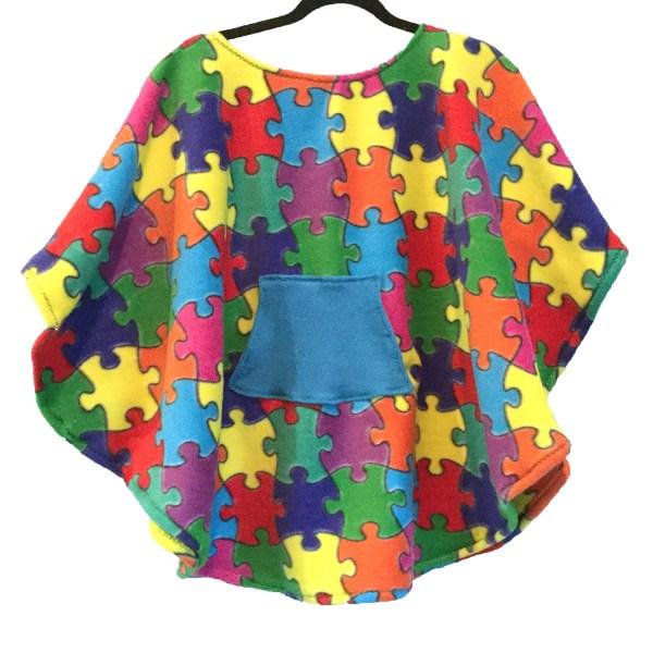 Child Hospital Gift Fleece Poncho