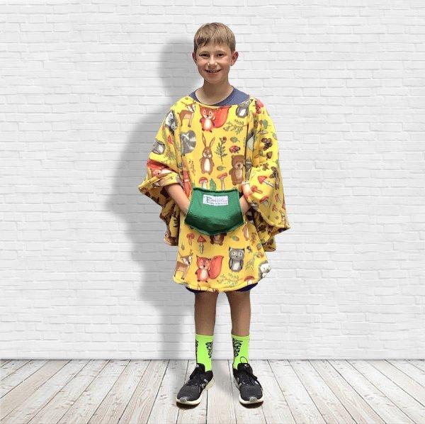 Child Warm Fleece Poncho
