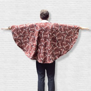Adult Teen Hospital Gift Warm Poncho Cape Ivy