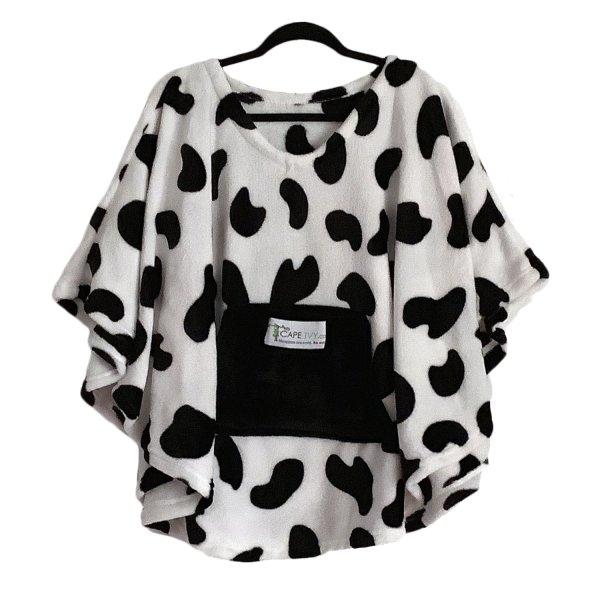 Child Hospital Cape Ivy Cow Poncho
