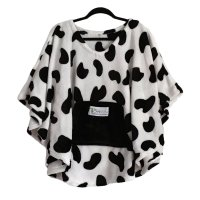 Child Hospital Cape Ivy Cow Poncho