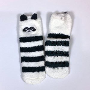 Child Small Adult Fluffy non-slip gripper socks Cape Ivy Panda Bears