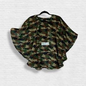 Child Hospital Gift Fleece Poncho Cape Ivy Camouflage