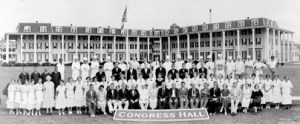 Congress Hall Staff in 1920