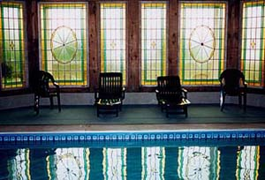 The Wilbraham Mansion's indoor pool
