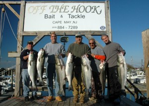 off  the hook b&t striper