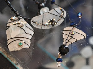 Jenny Cupp's handmade sea glass jewelry.